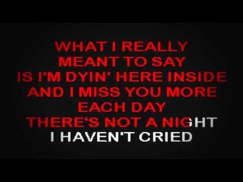 SC2343 02   Thomson, Cyndi   What I Really Meant To Say [karaoke]