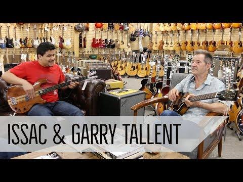 Isaac & Garry Tallent - '59 Hofner Beatle Bass Reissue & Kramer Fretless Bass