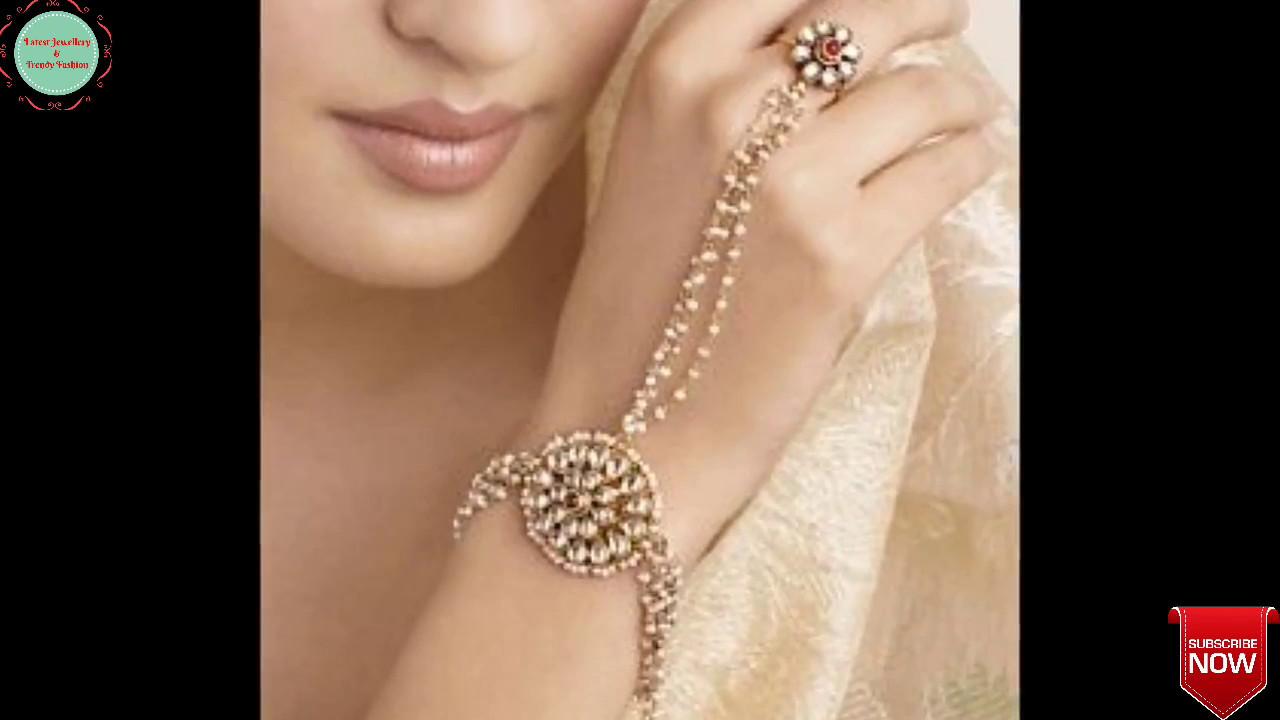 Latest Ring Bracelets Designs Long Finger Rings