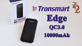 видео Внешний аккумулятор Tronsmart Edge PBT20+