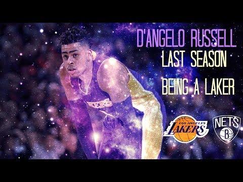 d'angelo russell Lil Uzi Vert - Ballin To The End mix nba season 2016-2017 last season as a Laker