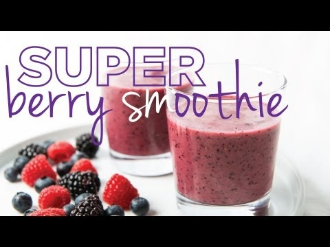 Super Berry Smoothie - The Hot Plate