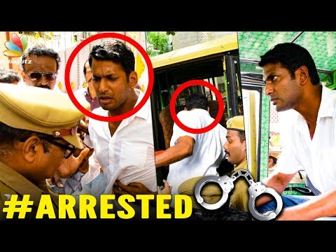 Vishal Arrested Producer Council Issue