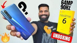 Realme 6 Unboxing & First Look   Best Midrange Smartphone For Camera & Gaming???