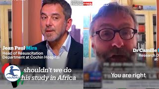 French Doctors Propose on Live Tv Using Africans as Guinea pigs For Coronavirus Treatments