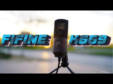 Обзор микрофона Fifine K669 - Топ за свои деньги?