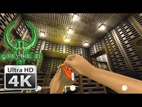 Quake II XP Mod vs Quake II Comparison 4K Gameplay + Download Link