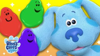 Learn Colors w/ Josh & Blue | Color Skidoo | Blue's Clues & You!