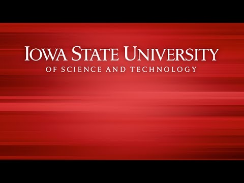 Iowa State University: TIER Town Hall, Oct. 13, 2014