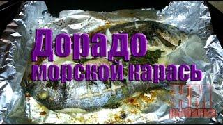 Как запекать рыбу Дорадо вкусно