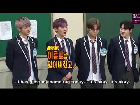 [ENGSUB] WANNA ONE INTRODUCES ON KNOWING BROTHER