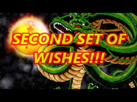 Second Set of Shenron Wishes! Dokkan Battle Summoning Shenro