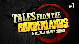 Twitch Livestream | Tales From The Borderlands Episode 1: Zer0 Sum