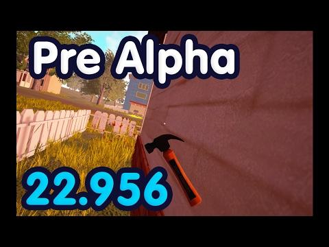 Hello Neighbor Pre Alpha for speedrun.com 22.956 WR Legendary method thumbnail