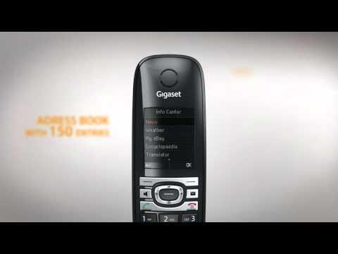 Gigaset C610IP VoIP Dect phone Educational Trailer