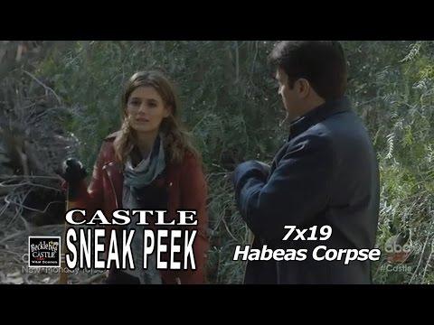 """Castle 7x19 Sneak Peek  1 """"Habeas Corpse"""