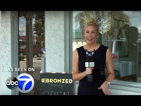 B|Bronzed™ Airbrush Tanning and Teeth Whitening on ABC 7 - studios in Cape Coral and Naples FL!