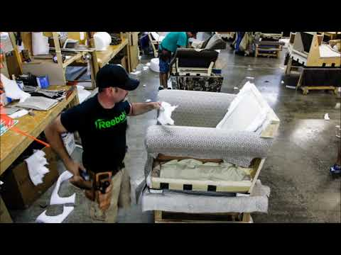 The Upholstering Process In Fast Forward