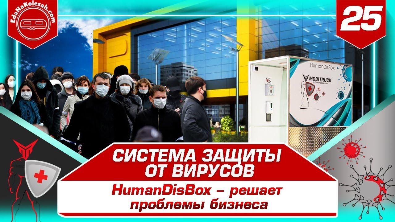 Видео презентация - HumanDisBox против вирусов