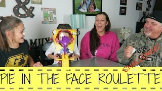 PIE IN THE FACE ROULETTE CHALLENGE!