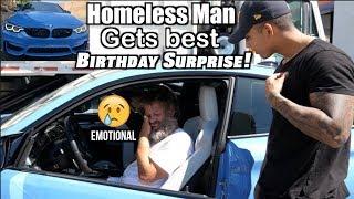 HOMELESS man gets BEST birthday GIFT!