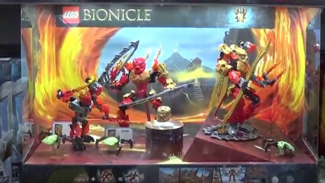 1й сезон. Все серии 1-9. Легенда ЛЕГО Бионикл 2015 Полная версия .
