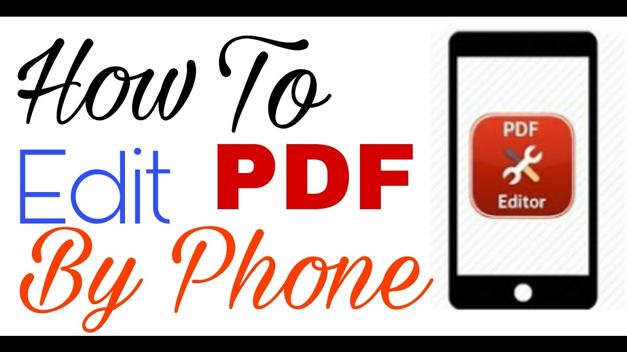 How To Edit Pdf Files On Mobile How To Edit Pdf Files For Free On Android