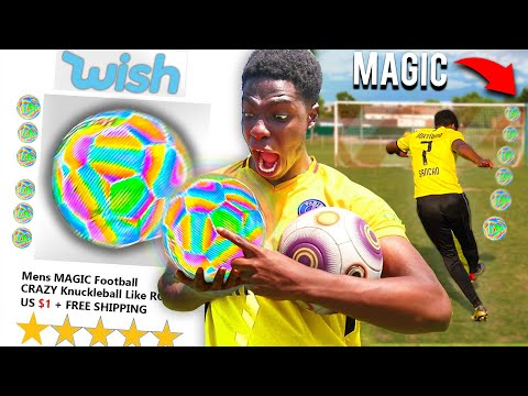 I Bought A MAGIC Football From Wish & IT WORKED!! Play Like Messi, Ronaldo & Haaland