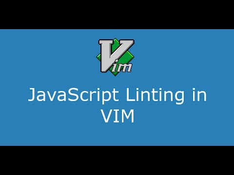 Part 7 JavaScript linting in VIM