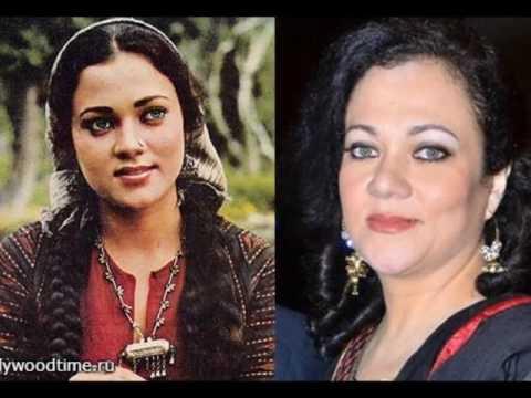 Англо-индийская актриса МАНДАКИНИ.