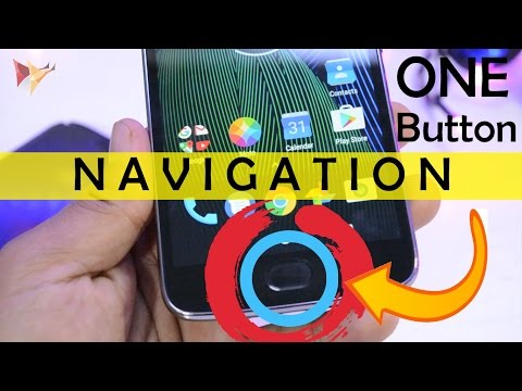 How To Activate Moto G5 Plus One Button Navigation | Data Dock