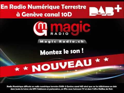#GE10D Magic Radio now in DAB+ Geneva 10D