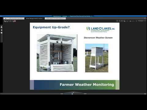 Farmer Managed Weather Monitoring in Southern Zambia