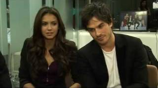 ITN Interview about Twilight & Vampire Diaries with Paul Wesley, Ian Somerhalder & Nina Dobrev