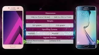Samsung Galaxy A5 2017 vs Samsung Galaxy S6 edge - Phone comparison
