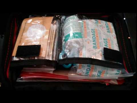 First Aid Kit 115 Piece for Car, Home, Travel