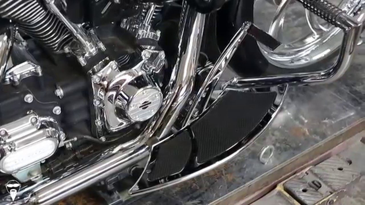 Forward Controls For Touring Amp Softails Youtube