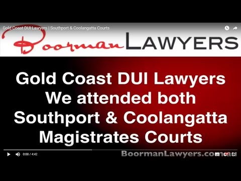 Gold Coast DUI Lawyers   Southport & Coolangatta Courts