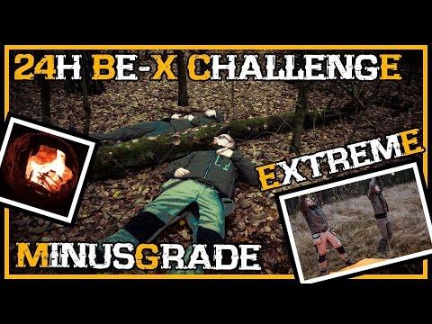 24h Übernachtung bei Minusgraden - BE-X Challenge - Outdoor Survival Deutschland