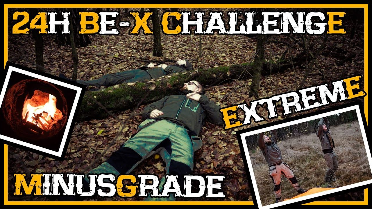 24h bernachtung bei minusgraden be x challenge outdoor survival deutschland youtube. Black Bedroom Furniture Sets. Home Design Ideas