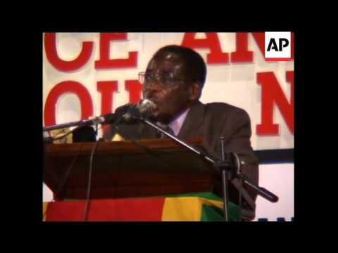 Mugabe critical of British PM Blair in speech