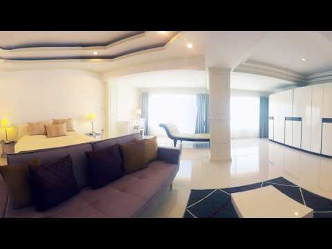 Exclusive Penthouse Condominium in Chiang Mai Bedroom 360Video