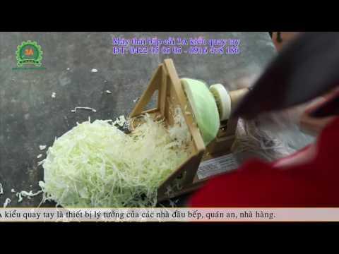 Máy thái rau bắp cải, máy cắt sợi bắp cải quay tay