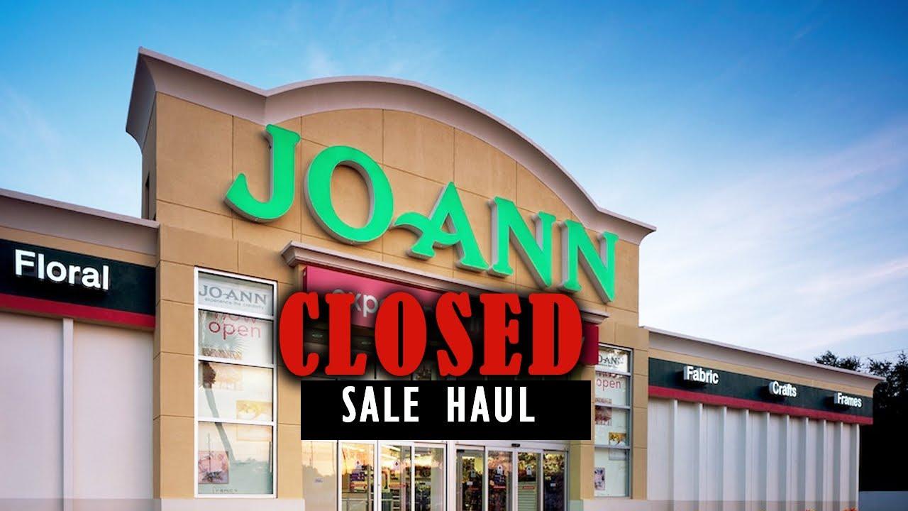 BIG Shopping Haul, Joann Closed Near Me, Craft Supplies ...