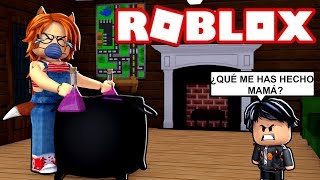 LULY GIVES YOU THE WRONG POTION TO DRINK DERANK. EXE in ROBLOX 😱