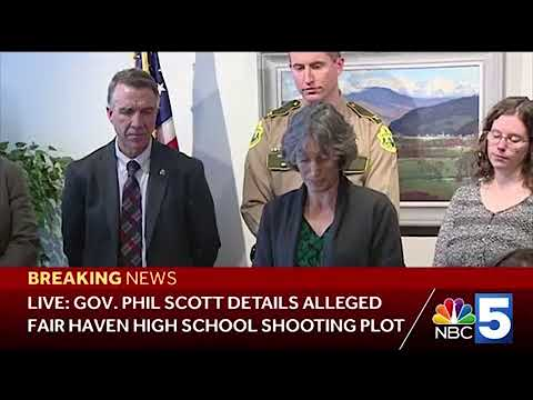 Watch: Gov. Scott announces possibility of enacting gun laws in Vermont