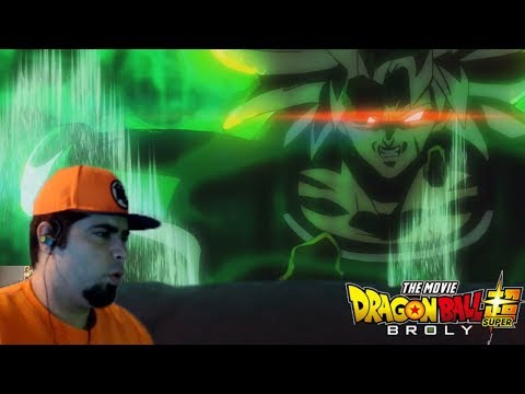 Dragon Ball Super Broly Movie Official Trailer Reaction!