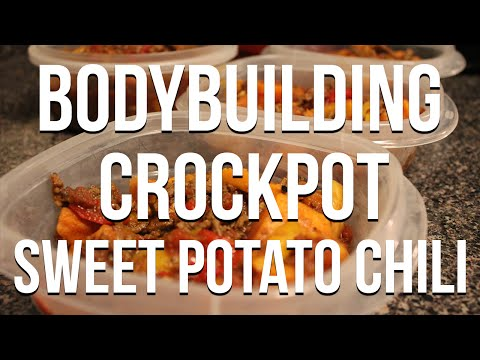 Bodybuilding Recipe: Crockpot Sweet Potato Chili Recipe
