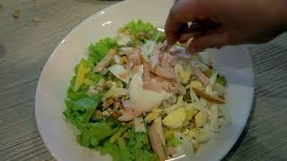 Рецепты от шефа: салат с опятами.