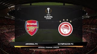 UEFA Europa League | Arsenal v Olympiacos Piraeus | Highlights